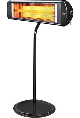 Kumtel Exp-18 1800 Watt Ecoray Mobile Infrared Isıtıcı