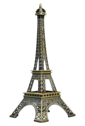 Ramosis Paris Eyfel Kulesi Dekoratif Biblo Dökme Demir Küçük Boy 18 cm