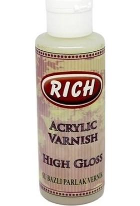 Rich Su Bazlı High Gloss Parlak Vernik 120 ml