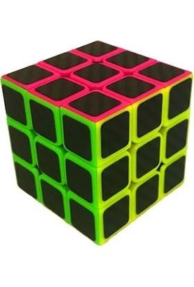 Brains Fosforlu Siyah Zeminli 3 x 3 x 3 Rubik Zeka Küpü