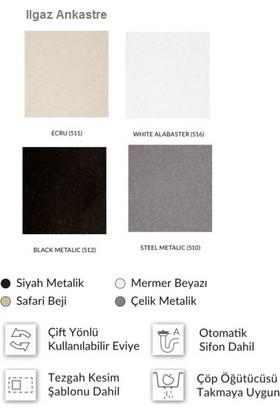 Marmorin Tellur Tezgah Üstü Granit Eviye 1000 1,5ko