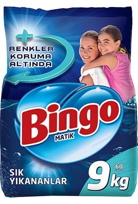 Bingo Matik Sık Yıkananlar 9 kg