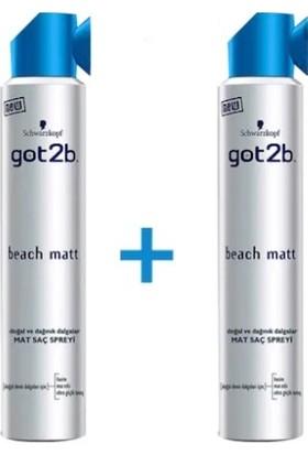 GOT2B Beach Matt x2