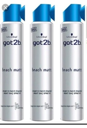 GOT2B Beach Matt x3