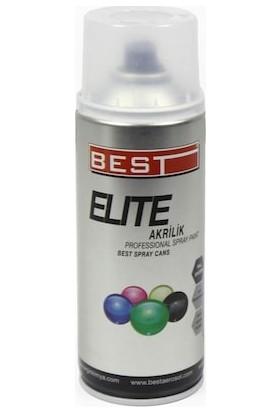 Best Elite Akrilik Sprey Boya Büyük Boy RAL-9003 Parlak Beyaz