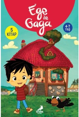 Ege ile Gaga 5 Kitap - (4-7 Yaş)