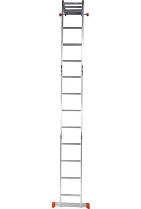 Elbe 4 x 4 Çok Amaçlı Akrobat Merdiven