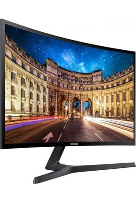 """Samsung LC27F390FHMXUF 27"""" 4ms 72 Hz (Analog+HDMI) Full HD FreeSync Curved Monitör"""