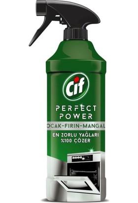 Cif Perfect Power Fırın Ocak Mangal için Sprey Temizleyici 435 ML