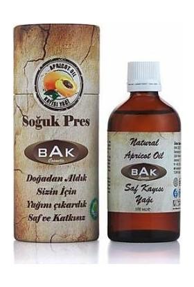 Bak Naturel Apricot Oil Saf Kayısı Çekirdeği Yağı 100ml