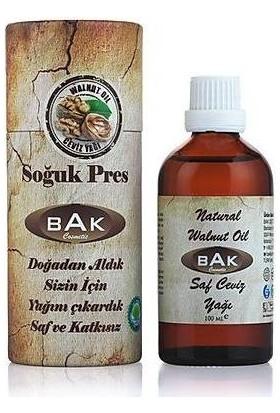 Bak Naturel Walnut Oil Saf Ceviz Yağı 100ml