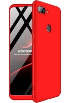Wowie Xiaomi Mi 8 Lite Polyplus Kırmızı Silikon Kılıf