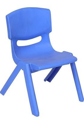 Kivi Home Büyük Şirin Çocuk Sandalyesi Açık Mavi