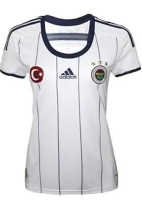 Adidas Fenerbahçe Kadın Beyaz Maç Forması L