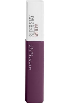 Maybelline New York Super Stay Matte Ink Likit Mat Ruj - 110 Originator - Mor