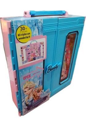 Kayyum Oyuncak Beauty Gardırop 30 Parça Mavi