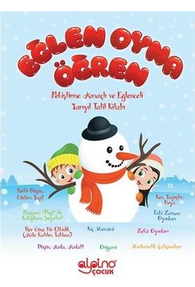 Alpino Çocuk Eğlen Oyna Öğren Anaokulu Tatil Kitabı - (4 - 6 Yaş)