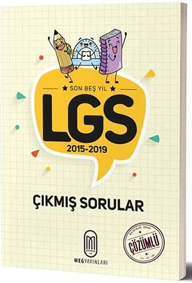 Meg Lgs Son 5 Yıl Çözümlü Çıkmış Sorular-2015-2019-Yeni