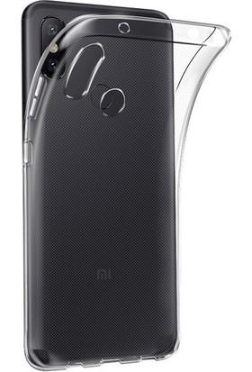 Engo Xiaomi Mi A2 Şeffaf Kılıf Silikon Slim Fit Arka Kapak Koruyucu Silikon Kılıf