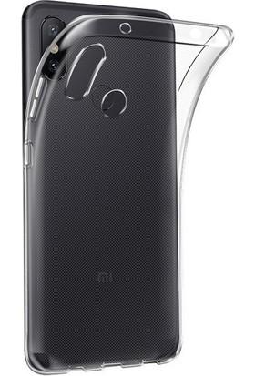 Engo Xiaomi Mi 6X Şeffaf Kılıf Silikon Slim Fit Arka Kapak Koruyucu Silikon Kılıf