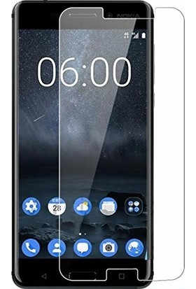 Engo Nokia 5 Ekran Koruyucu Nano Cam İnce Esnek 9H Temperli Campet Ekran Koruyucu