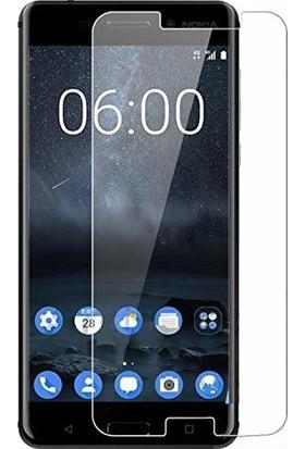 Engo Nokia 6 Ekran Koruyucu Nano Cam İnce Esnek 9H Temperli Campet Ekran Koruyucu