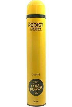 Redist Full Force 01 Saç Spreyi 400 ml
