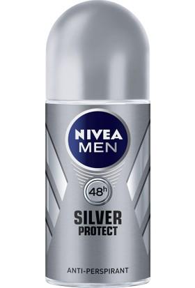 Nıvea Deo Roll-On 50 ml silver Protect Erkek
