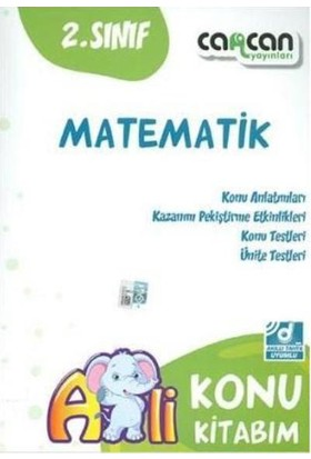 Cancan 2. Sınıf Matematik Konu Kitabım