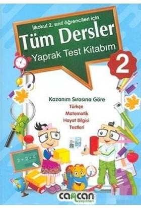 Cancan 2. Sınıf Tüm Dersler Yaprak Test Kitabım