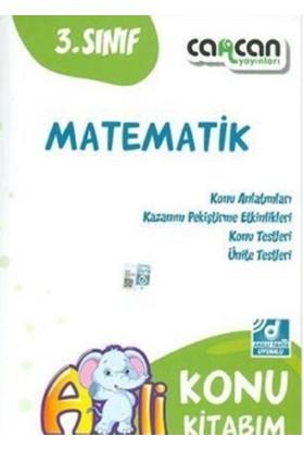 Cancan 3. Sınıf Matematik Konu Kitabım