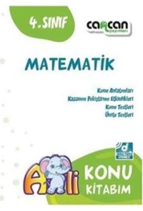 Cancan 4. Sınıf Matematik Konu Kitabım