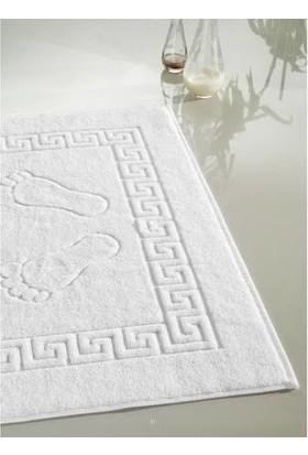 Elgin Home Collection Pamuk Beyaz Ayak Havlusu