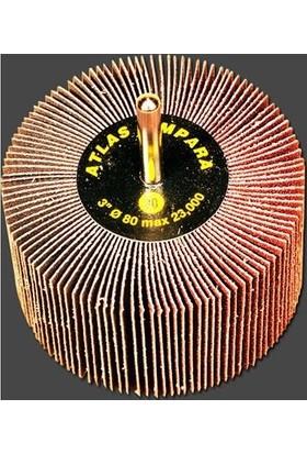 Atlas Saplı Mop Zımpara 60 Kum 60 x 15 mm