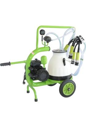 Bartech C20 Tek Sağım Plastik Güğüm Inek Süt Sağım Makinesi