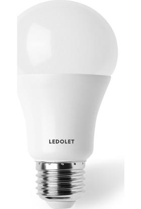 Ledolet 9W SOLAR 12VDC LED Ampul Beyaz