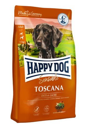 Happy Dog Ördekli Somonlu Hassas Derili Köpek Maması 12.5 kg