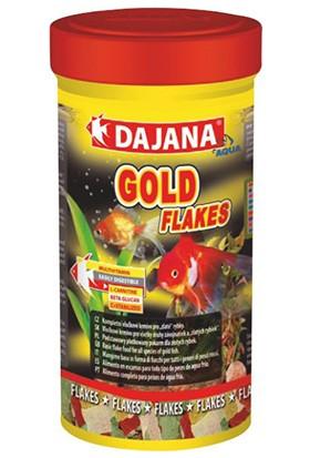 Dajana Gold Flakes Japon Balığı Pul Yem 100 ML 20 Gr