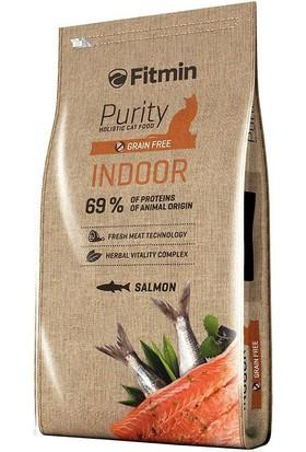 Fitmin Purity Indoor Somonlu Tahılsız Yetişkin Kedi Maması 10 kg