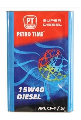 Petro Time 15W 40 14 kg 16 l Dizel Motor Yağı