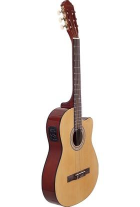 Mex C390CE Elektro Klasik Gitar Tam Boy 4/4 39''