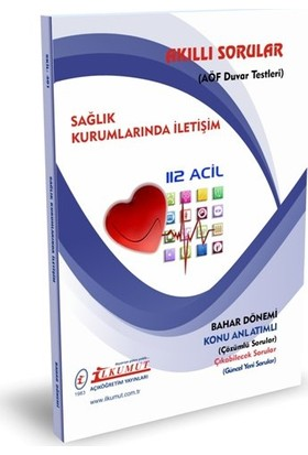 İlkumut Yayıncılık AÖF Sağlık Kurumlarında Iletişim