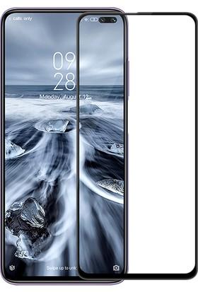 KNY Xiaomi Redmi K30 Kenarı 5D Cam Ekran Koruyucu SiyahSiyah