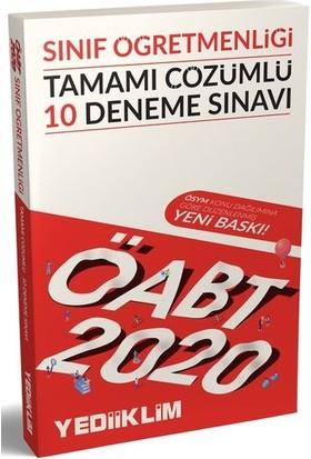 Yediiklim Yayınları 2020 KPSS ÖABT Sınıf Öğretmenliği Tamamı Çözümlü 10 Deneme Sınavı