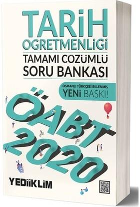 Yediiklim Yayınları 2020 KPSS ÖABT Tarih Öğretmenliği Tamamı Çözümlü Soru Bankası