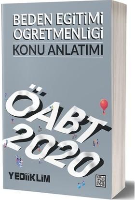 Yediiklim Yayınları 2020 KPSS ÖABT Beden Eğitimi Öğretmenliği Konu Anlatımı