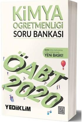 Yediiklim Yayınları 2020 KPSS ÖABT Kimya Öğretmenliği Soru Bankası