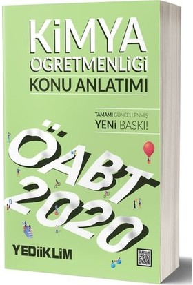 Yediiklim Yayınları 2020 KPSS ÖABT Kimya Öğretmenliği Konu Anlatımı
