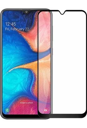 Cobra Samsung Galaxy A20 Tam Kaplayan Curved Temperli Zore Ekran Koruyucu