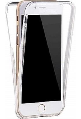 Kılfreyonum Apple iPhone 8 Ön Arka Şeffaf 360 Derece Tam Korumalı Kılıf